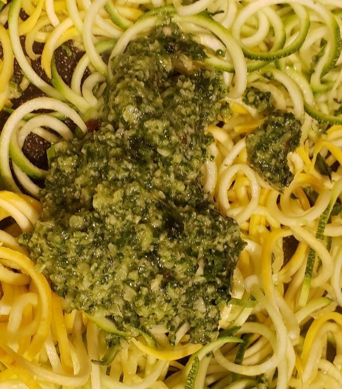 Five Minute Pesto Sauce