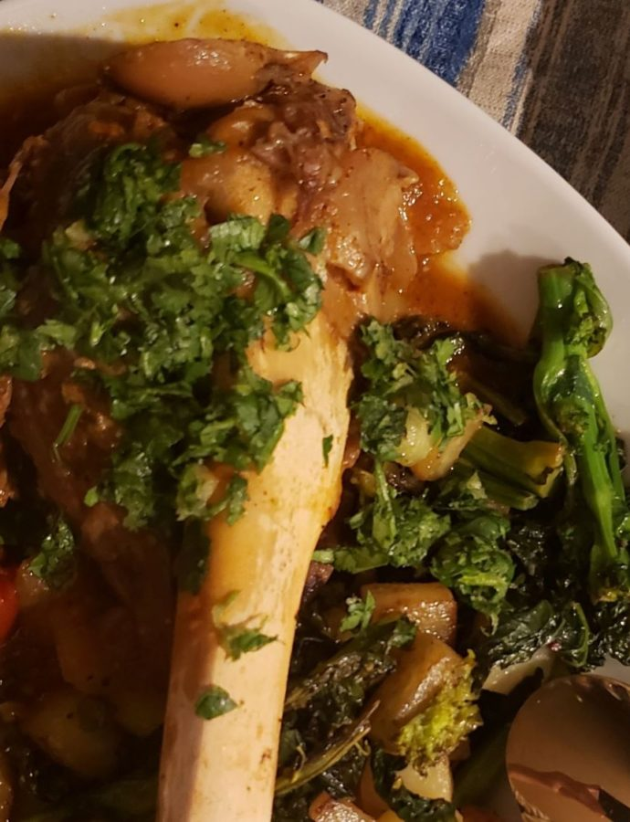 Instant Pot Braised Lamb Shank