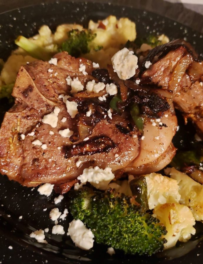 Skillet Seared Lamb Chops